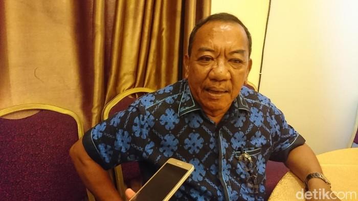 Ketua DPC Demokrat Kota Medan, Burhanuddin Sitepu