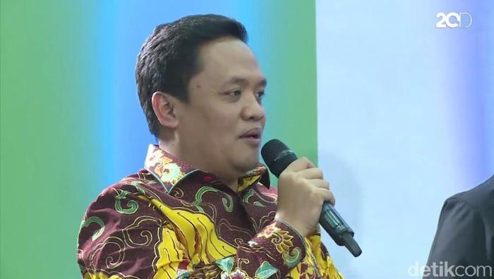 Foto: Screenshot drooftalk Juru Bicara Partai Gerindra Habiburokhman