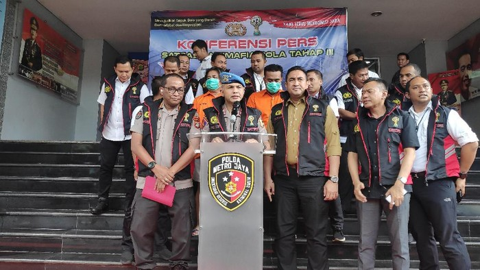 Satgas Antimafia Bola tangkap Exco PSSI Jabar