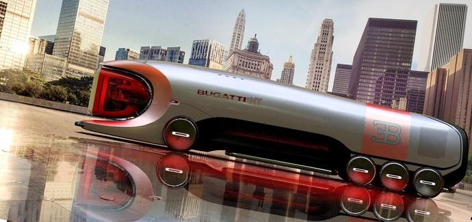 Hyber bus Bugatti