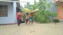 Sungai Citalahab Meluap, 400 Kepala Keluarga di Ciamis Kebanjiran
