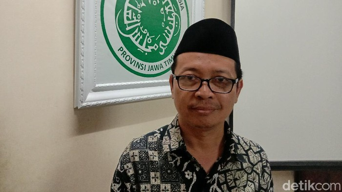 Sekretaris MUI Jatim Ainul Yaqin
