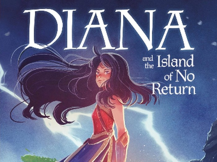 Komik Diana and the Island of No Return