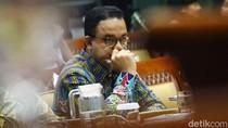 Ekspresi Anies Saat Rapat Bareng Komisi X Bahas Revitalisasi TIM