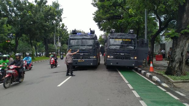 Ada Demo di Kemen BUMN, Jalan Medan Merdeka Selatan Tetap Dibuka