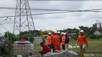 Polisi Selidiki Izin Permukiman di TKP Tower SUTT PLN Roboh Rembang