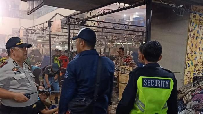 Kebakaran di lantai dasar Thamrin City