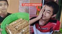 Sedih! Remaja Pengidap Kanker Ini Jualan Kacang Goreng Untuk Berobat