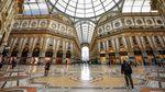 Penampakan Butik hingga Kafe di Kota Milan yang Sepi Imbas Corona