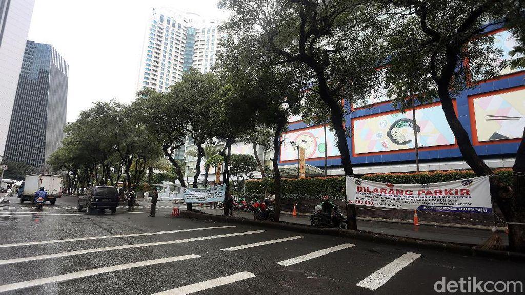 Samping Citywalk Sudirman Kini Bebas dari PKL