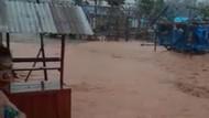 Banjir Lumpur Rusak Puluhan Hunian Sementara Warga di Konawe Utara