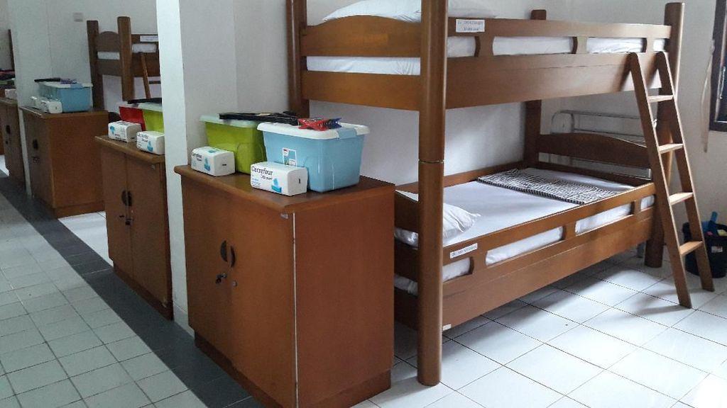 Mengintip Ruang Tidur Observasi WNI ABK World Dream di Pulau Sebaru