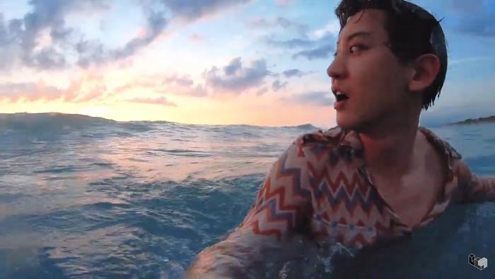 Chanyeol EXO liburan di Bali