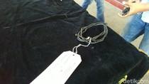 Ini Kabel TV yang Dipakai Ayah Durjana Ikat Delis ke Gorong-gorong