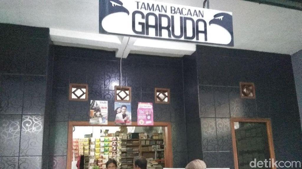 Foto: Taman Bacaan Legendaris Kecintaan Geng 90-an di Cimahi