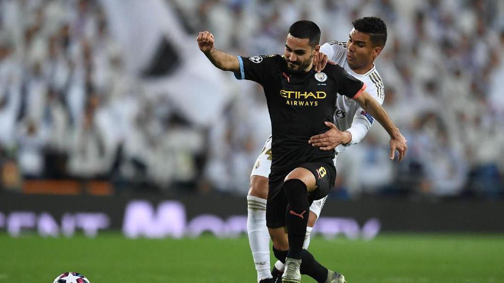 Man City Vs Madrid Tanpa Penonton, Casemiro: Keuntungan Nih!
