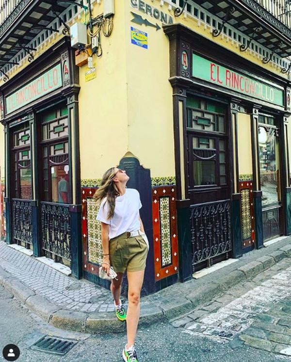 Saat berada di Spanyol, Maria juga berkunjung ke Seville. (mariasharapova/Instagram)