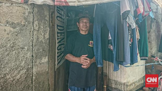 Potret Kemiskinan Warga Tepi Kali Cipinang Korban Banjir