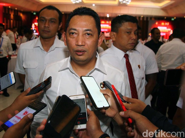 Kabareskrim Polri Komjen Listyo Sigit Prabowo mengumpulkan Direktur Reserse Kriminal Umum hingga Kasubdit I/Kamneg Polda se-Indonesia