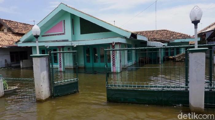 Penampakan banjir di Kota Pekalongan, Kamis (27/2/2020)