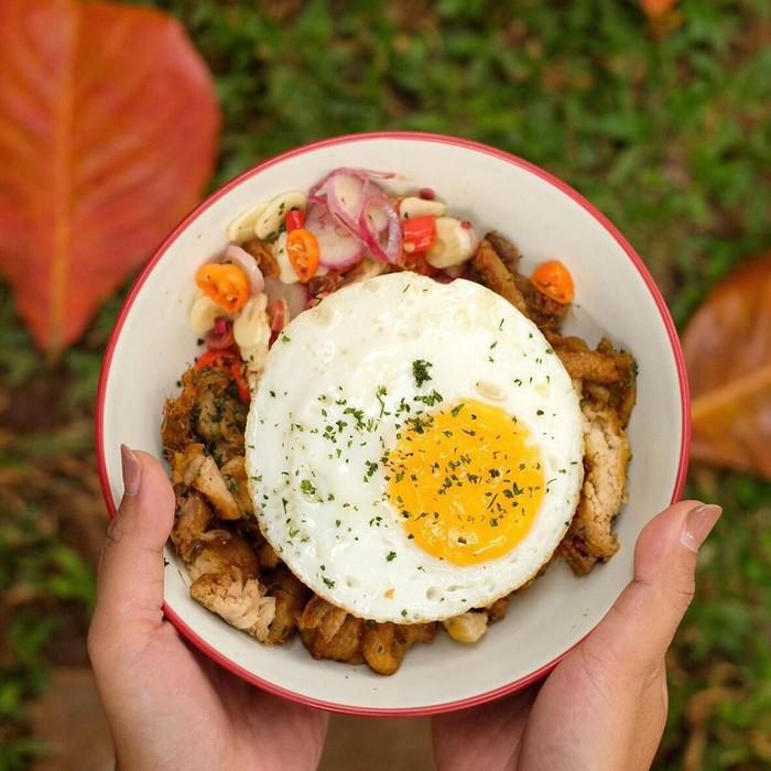 nasi ayam kecombrang