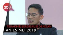 Sandi Akui Jarang Bertemu Prabowo dan Anies