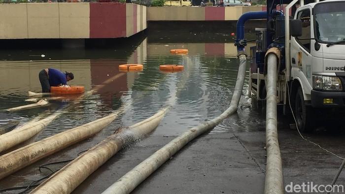 Underpass Kemayoran Banjir (Tiara/detikcom)