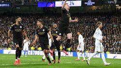 Real Madrid vs Man City: Los Blancos Keok 1-2, Ramos Dikartu Merah