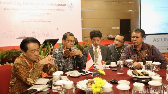 Pemkot Makassar menggelar konferensi smart city bersama 50 investor dari Jepang (dok. Istimewa)