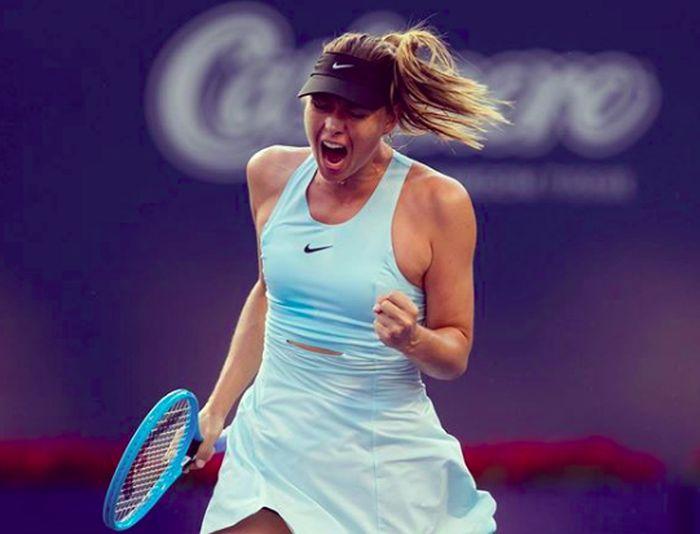 liburannya Maria Sharapova