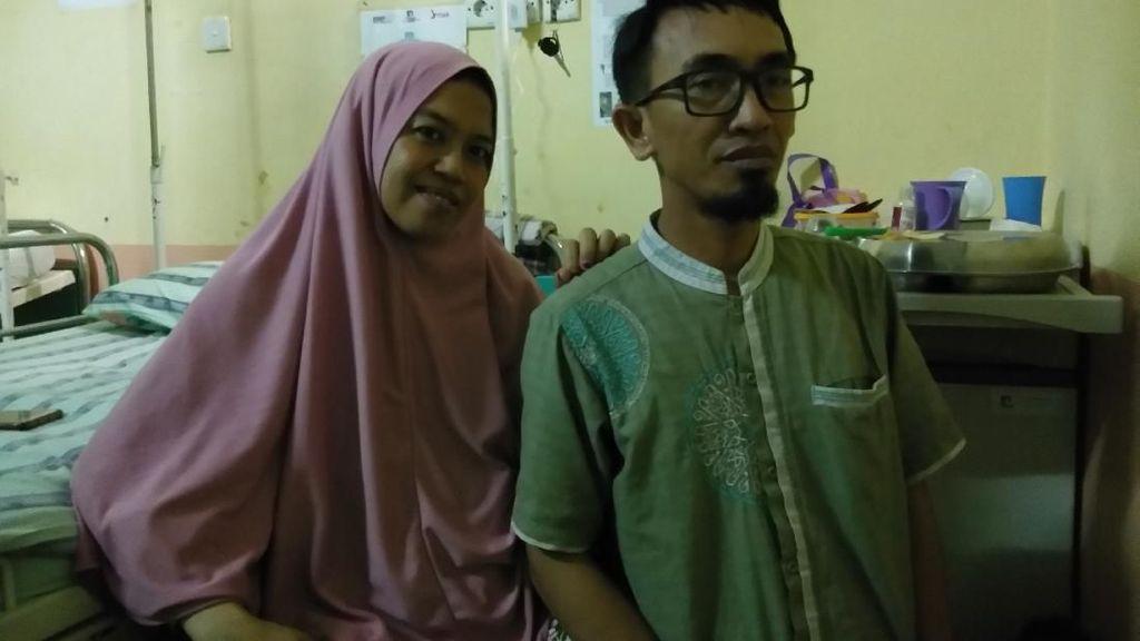 Bahagia Campur Haru, Ini Cerita Awal Ibu di Makassar Tahu Hamil Kembar 4
