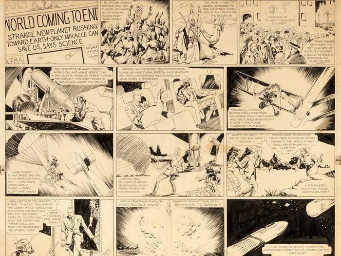 Komik Strip Flash Gordon