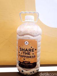 Bubble Tea 2 Liter yang Hits di Medan Ini Pakai Racikan Asli Taiwan