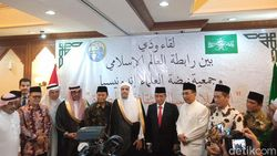 Kunjungi PBNU, Sekjen Liga Muslim Dunia Puji Harmonisasi Beragama RI