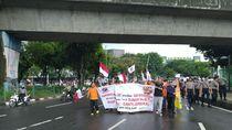 Usai Demo di Kantornya, Karyawan PT Pos Indonesia Long March ke Kemen BUMN