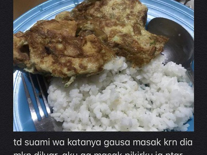 istri kelaparan