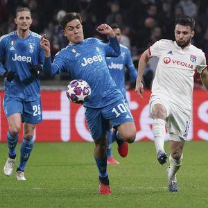 Video Gol Lyon Jinakkan Juventus dan Ronaldo