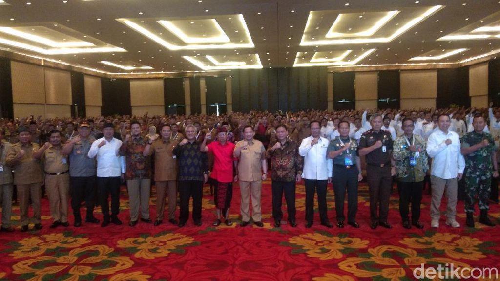 Rakor Terkait Pilkada 2020 di Bali, Mendagri Ingatkan Netralitas ASN