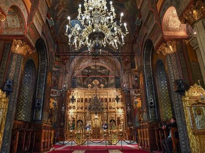 Gereja Ortodoks Rumania (AFP/DANIEL MIHAILESCU)