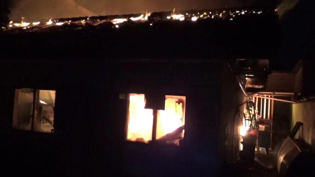 Kebakaran Puskesmas Yosomulyo Diduga Korsleting Listrik