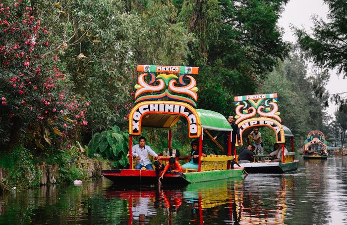 In the South of Mexico City, Xochimilco -