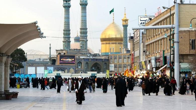 Kota suci di Iran.