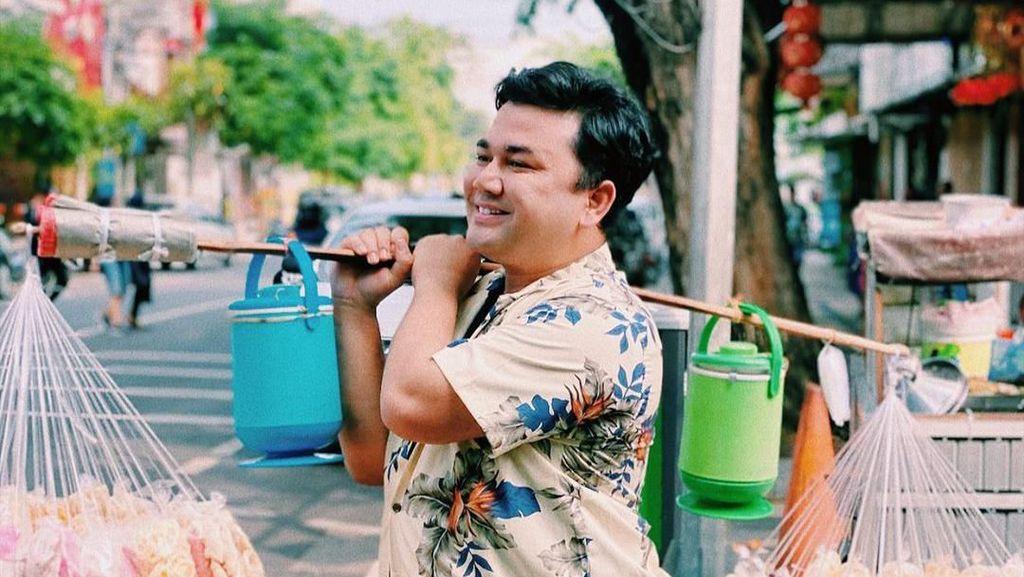 Fergy Ncess Nabati Presenter Kuliner Centil yang Doyan Banget Makan