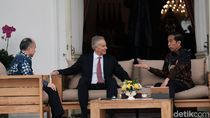 Video Jokowi dan Tony Blair Bertemu Bahas Konsep Ibu Kota Baru