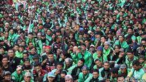 Desak Nurhayati Monoarfa Mundur, Ini Tuntutan Demo Ojol di DPR
