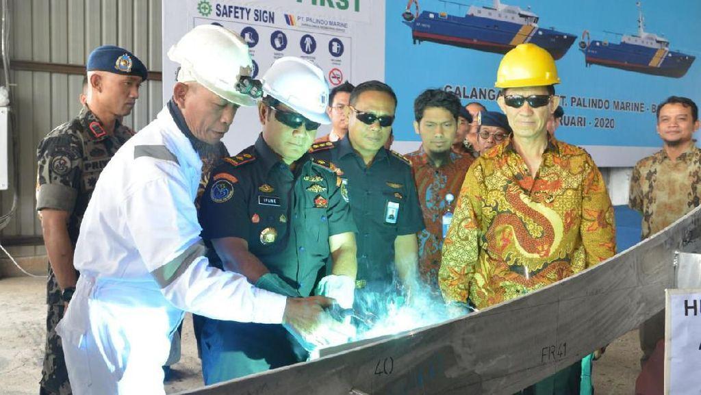 Cegah Illegal Fishing di Natuna, KKP Buat 2 Kapal Pengawas