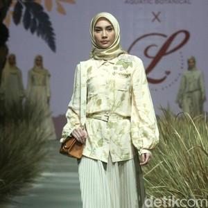 Foto: 12 Koleksi Hijab Ecofriendly Karya Laudya Cynthia Bella