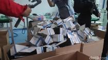 Polda Metro Gerebek Pabrik Masker Ilegal di Jakut, 10 Pekerja Diamankan