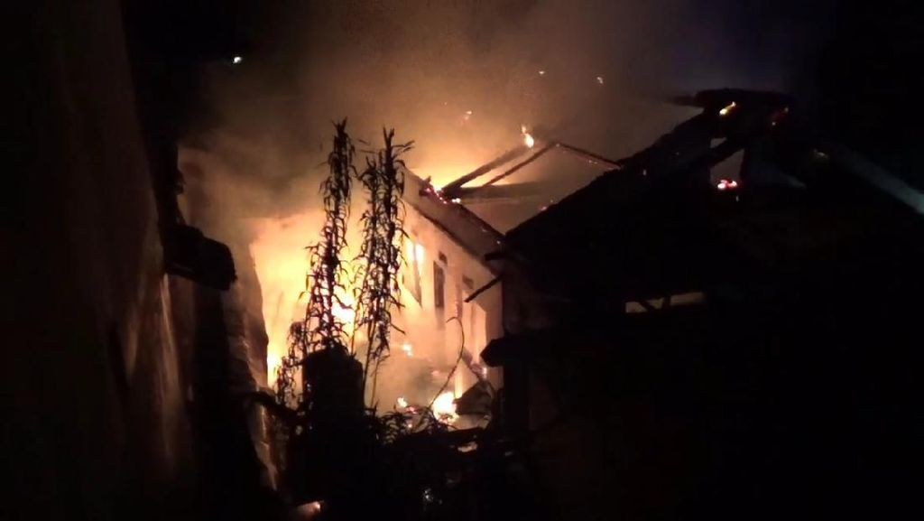 Gedung Puskesmas Yosomulyo Banyuwangi Terbakar
