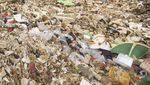 Jorok! Kali Licin di Depok Tertutup Sampah